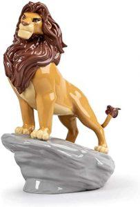 Figura de porcelana de Lladró de Disney de Simba - Las mejores figuras de porcelana de Lladró de Disney