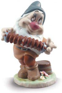 Figura de porcelana de Lladró de Disney de Tímido - Las mejores figuras de porcelana de Lladró de Disney