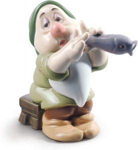 Figura de porcelana de NAO de Disney de Dormilón - Las mejores figuras de porcelana de Lladró de Disney