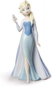 Figura de porcelana de NAO de Disney de Elsa - Las mejores figuras de porcelana de Lladró de Disney