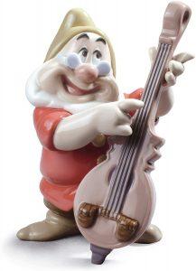 Figura de porcelana de NAO de Disney de Feliz - Las mejores figuras de porcelana de Lladró de Disney