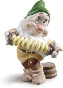 Figura de porcelana de NAO de Disney de Tímido - Las mejores figuras de porcelana de Lladró de Disney