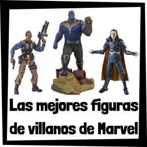 Figuras de colección de villanos de Marvel - Las mejores figuras de colección de villanos del universo de los Vengadores del UCM