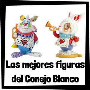 Figuras y muñecos del Conejo Blanco de Alicia en el País de las Maravillas