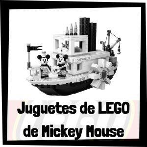 Juguetes de LEGO de Mickey Mouse de Disney - Sets de lego de construcción de Disney de Mickey Mouse