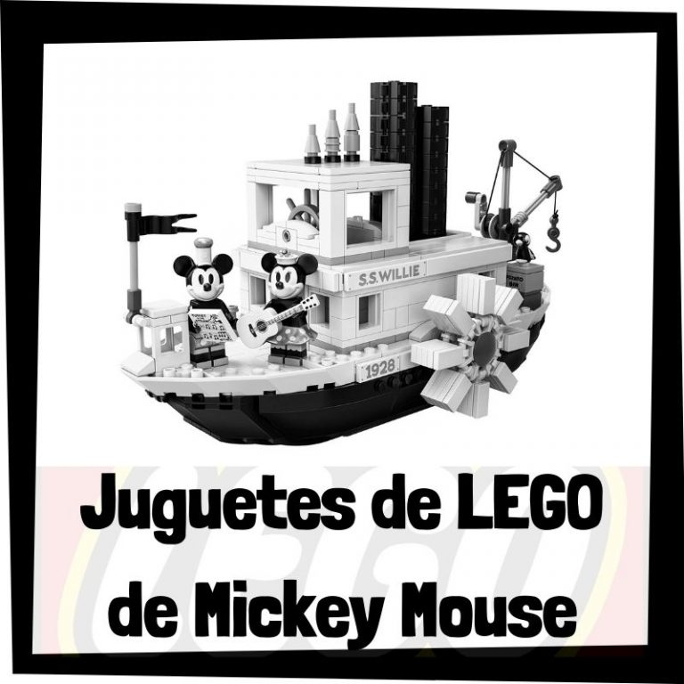 Lee más sobre el artículo Juguetes de LEGO de Mickey Mouse
