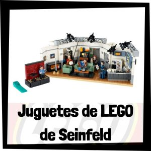 Juguetes de LEGO de Seinfeld - Sets de lego de construcción de Seinfeld