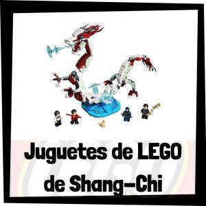Juguetes de LEGO de Shang-Chi y la Leyenda de los 10 anillos