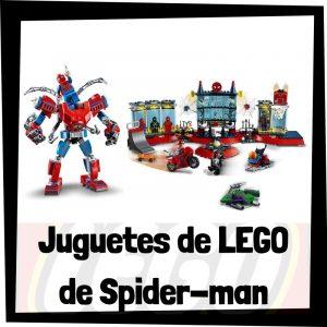 Juguetes de LEGO de Spider-man de Marvel de LEGO SUPER HEROES - Sets de lego de construcción de Spider-man de los Avengers - Vengadores