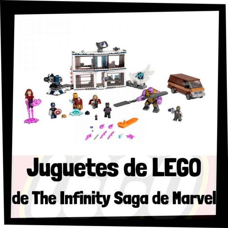 Lee más sobre el artículo Juguetes de LEGO de The Infinity Saga – La saga del Infinito