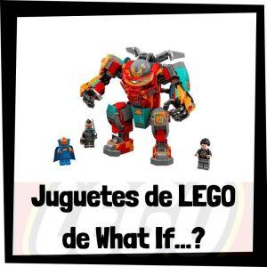 Juguetes de LEGO de What If...? de Marvel
