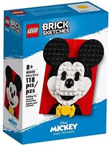 LEGO Brick Sketches de Mickey Mouse 40456 - Sets de LEGO de Mickey Mouse