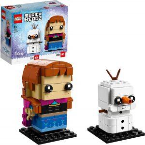 LEGO BrickHeadz de Anna y Olaf de Frozen de Disney - Los mejores juguetes de construcción de LEGO BrickHeadz