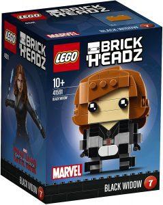 LEGO BrickHeadz de Black Widow de Marvel - Los mejores juguetes de construcción de LEGO BrickHeadz