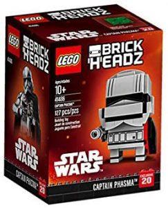 LEGO BrickHeadz de Capitán Phasma de Star Wars - Los mejores juguetes de construcción de LEGO BrickHeadz