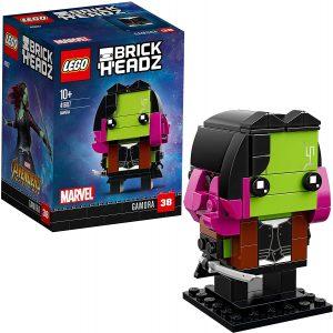 LEGO BrickHeadz de Gamora de Marvel - Los mejores juguetes de construcción de LEGO BrickHeadz