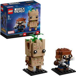 LEGO BrickHeadz de Groot y Rocket de Marvel - Los mejores juguetes de construcción de LEGO BrickHeadz