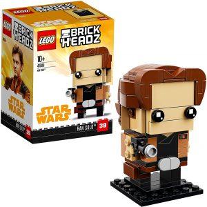LEGO BrickHeadz de Han Solo de Star Wars - Los mejores juguetes de construcción de LEGO BrickHeadz