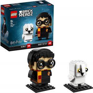 LEGO BrickHeadz de Harry Potter y Hedwig de Harry Potter - Los mejores juguetes de construcción de LEGO BrickHeadz