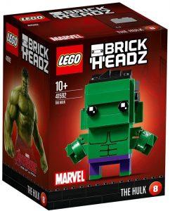 LEGO BrickHeadz de Hulk de Marvel - Los mejores juguetes de construcción de LEGO BrickHeadz