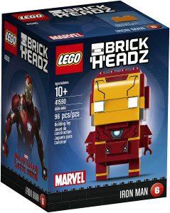 LEGO BrickHeadz de Iron man clásico de Marvel - Los mejores juguetes de construcción de LEGO BrickHeadz
