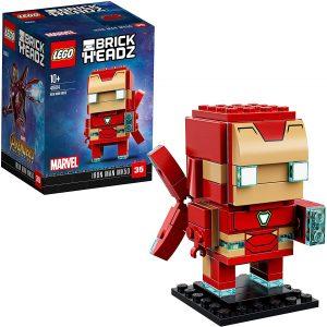 LEGO BrickHeadz de Iron man de Marvel - Los mejores juguetes de construcción de LEGO BrickHeadz