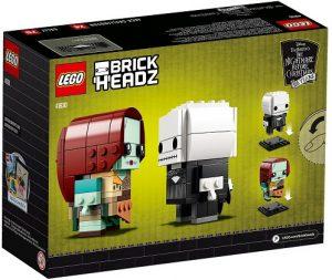 LEGO BrickHeadz de Jack Skellington y Sally de Nightmare Before Christmas de Disney - Los mejores juguetes de construcción de LEGO BrickHeadz