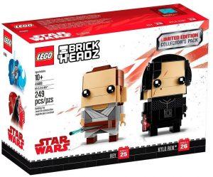LEGO BrickHeadz de Kylo Ren y Rey de Star Wars - Los mejores juguetes de construcción de LEGO BrickHeadz