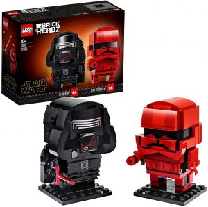 LEGO BrickHeadz de Kylo Ren y Sith Trooper de Star Wars - Los mejores juguetes de construcción de LEGO BrickHeadz