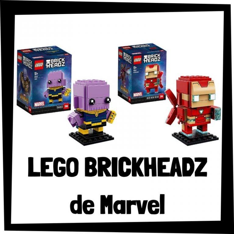 Lee más sobre el artículo LEGO BrickHeadz de Marvel