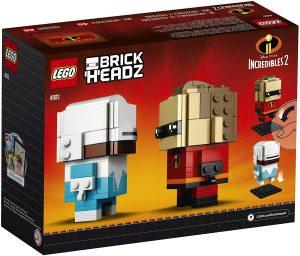 LEGO BrickHeadz de Mr Increible y Frozono de los Increibles de Disney - Los mejores juguetes de construcción de LEGO BrickHeadz