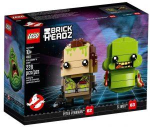 LEGO BrickHeadz de Peter Venkman y Slimer de los Cazafantasmas - Los mejores juguetes de construcción de LEGO BrickHeadz