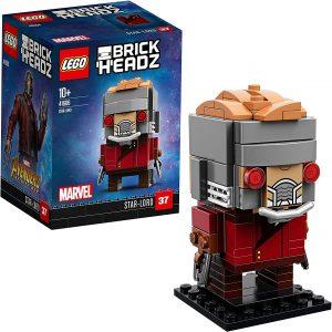 LEGO BrickHeadz de Star-Lord de Marvel - Los mejores juguetes de construcción de LEGO BrickHeadz