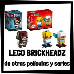 LEGO BrickHeadz de otras películas y series