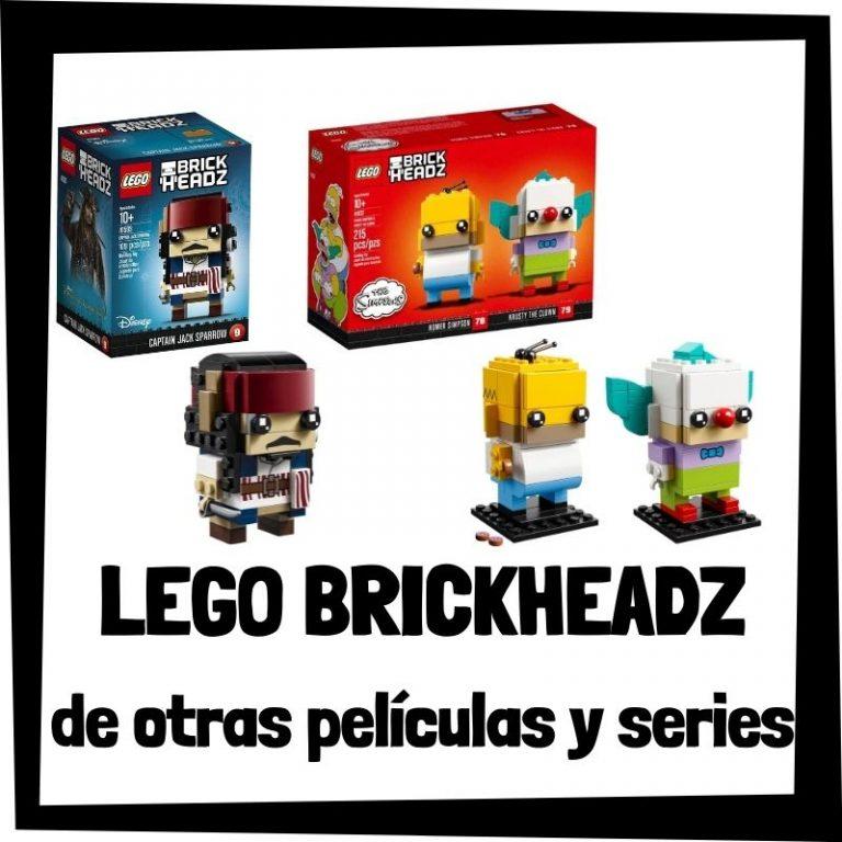 Lee más sobre el artículo LEGO BrickHeadz de otras películas y series