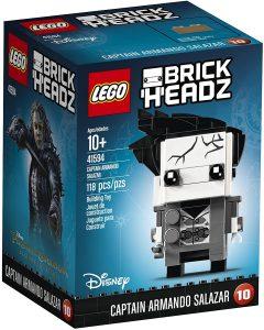 LEGO BrickHeadz del Capitán Armando Salazar de Piratas del Caribe - Los mejores juguetes de construcción de LEGO BrickHeadz