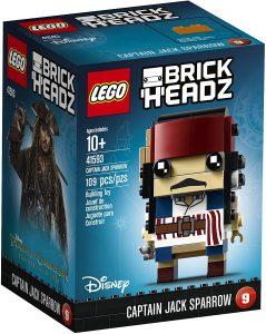 LEGO BrickHeadz del Capitán Jack Sparrow de Piratas del Caribe - Los mejores juguetes de construcción de LEGO BrickHeadz