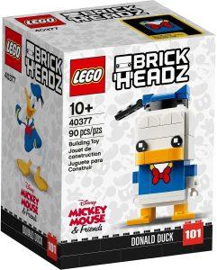 LEGO BrickHeadz del pato Donald - Los mejores juguetes de construcción de LEGO BrickHeadz