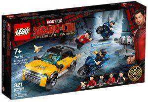 LEGO Shang-Chi y la Leyenda de los 10 anillos 76176 de Marvel - Sets de LEGO de Shang-Chi del Escape de los 10 anillos