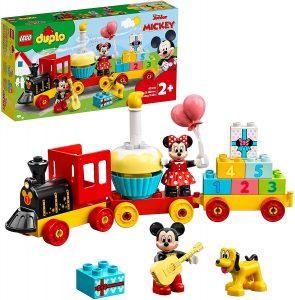 LEGO de Mickey Mouse y Minnie Mouse Tren de Cumpleaños 10941 - Sets de LEGO de Mickey Mouse