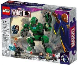Set de LEGO Marvel What If de Captain Carter y The Hydra Stomper 76201 - Los mejores juegos de LEGO de What If