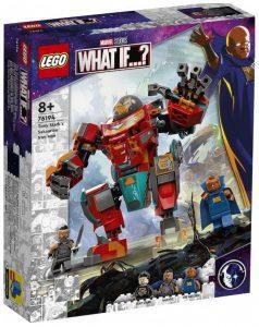 Set de LEGO Marvel What If de Tony Stark's Sakaarian Iron Man 76194 - Los mejores juegos de LEGO de What If