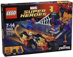 Set de LEGO de Alianza con el Motorista Fantasma 76058 - Sets de LEGO de Spider-man