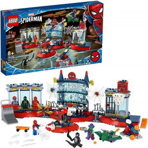 Set de LEGO de Ataque a la Guarida Arácnida 76175 - Sets de LEGO de Spider-man