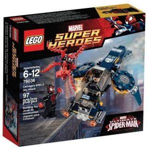 Set de LEGO de El Ataque aéreo de Matanza a Shield 76036 - Sets de LEGO de Spider-man