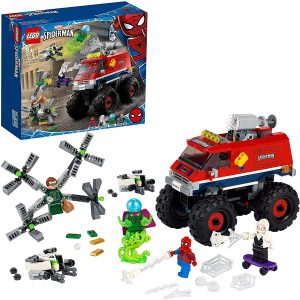 Set de LEGO de Monster Truck de Spider-Man vs Mysterio 76174 - Sets de LEGO de Spider-man