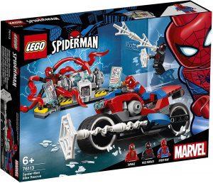 Set de LEGO de Rescate en Moto de Spider-Man 76113 - Sets de LEGO de Spider-man