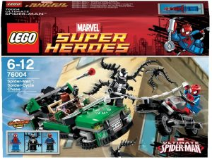 Set de LEGO de Spider-Cycle 76004 - Sets de LEGO de Spider-man