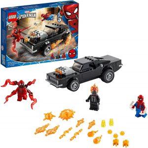 Set de LEGO de Spider-Man y el Motorista Fantasma vs Carnage 76173 - Sets de LEGO de Spider-man