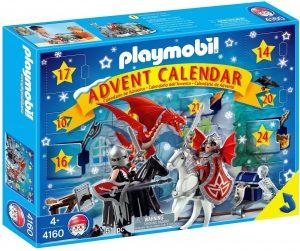 Set de playmobil de Calendario de Adviento 4160 Mundo del Dragón - Los mejores calendarios de Adviento de playmobil